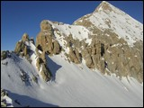Passo Ombretola e sasso Vernale visti dalla cima Ombretola